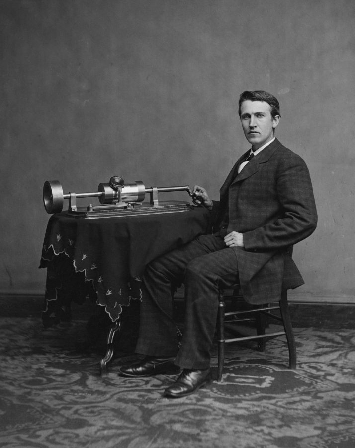 The+oldest+playable+recording+was+originally+made+on+a+Thomas+Edison-invented+phonograph+in+St.+Louis+in+1878.