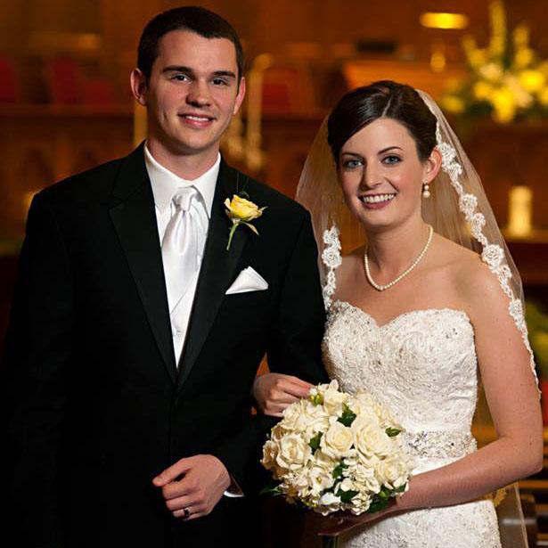 Katherine+Lee+Fisher%2C+of+Joplin%2C+Mo.%2C+and+Samuel+Max+Swisher%2C+of+Warrensburg%2C+Mo.%2C+were+married+Saturday%2C+June+1+at+First+United+Methodist+Church+of+Joplin.
