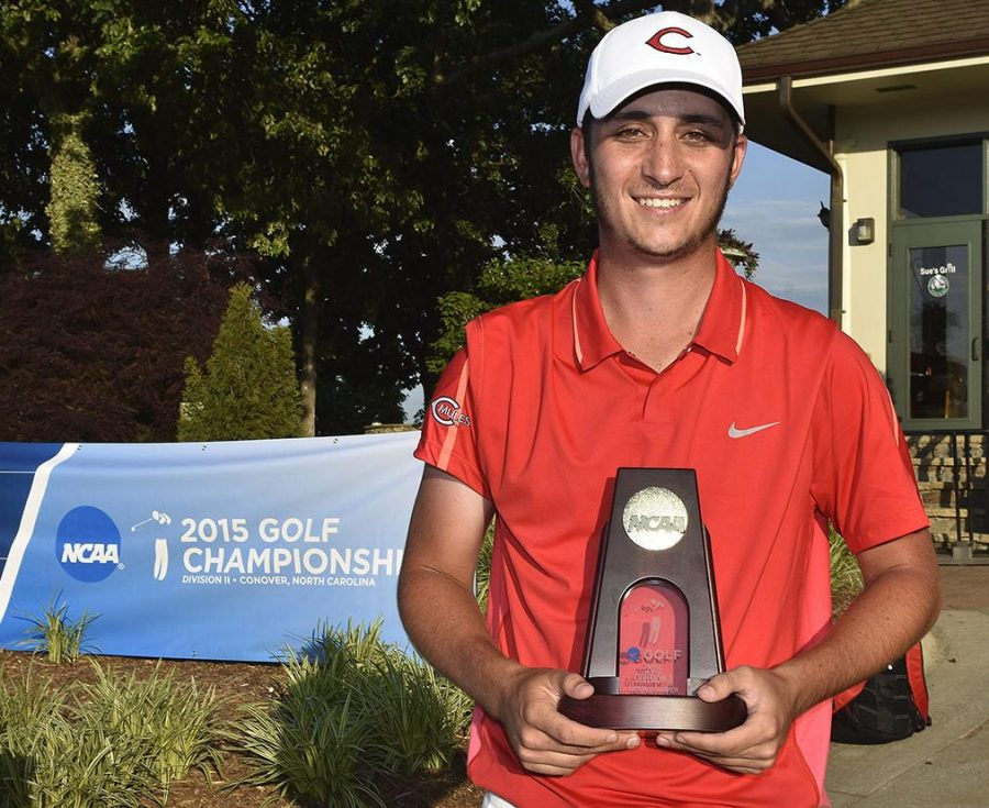 Sam+Migdal+became+the+first+player+in+Mules+golf+history+Wednesday+to+claim+the+individual+national+championship.