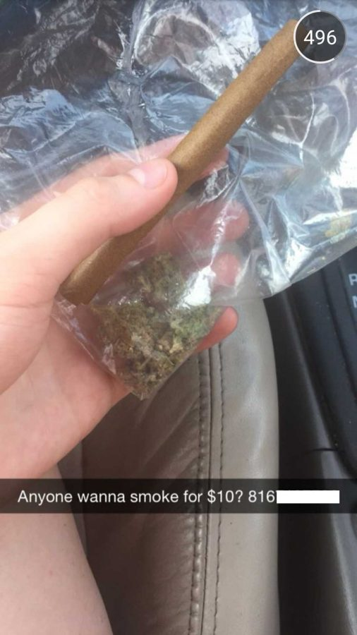PHOTO+SCREENSHOT+FROM+UCMO_SNAPS%0ASome+users+submitted+photos+of+illicit+activity+such+as+selling+marijuana%2C+sometimes+giving+out+contact+information+in+the+process.