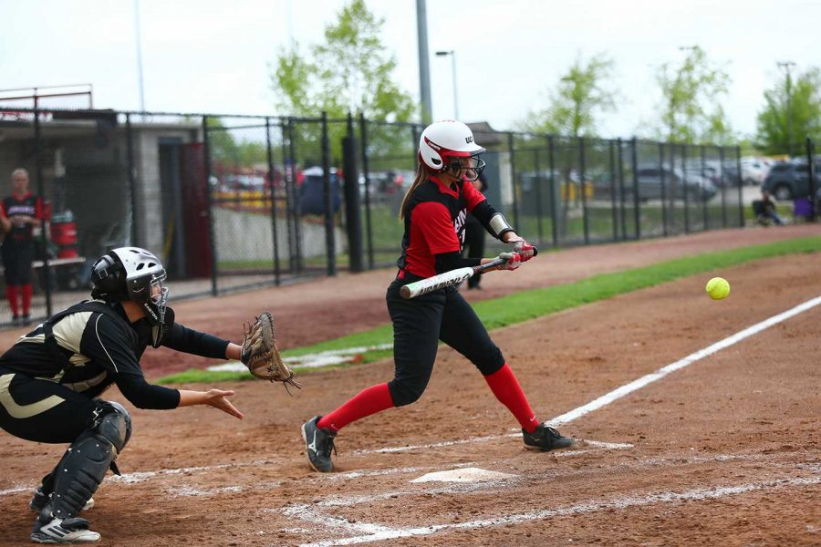 PHOTO SUBMITTED BY UCM ATHLETICS Senior shortstop Ali Jo Rogers helped the Jennies to a 2-3 finish at the Kelly Laas Memorial Softball Invitational in St. Cloud, Minn., over the weekend. Rogers is hitting .255 with 18 stolen bases through 15 games played so far this season.