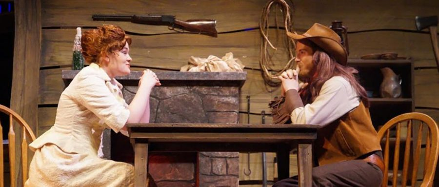 PHOTO SUBMITTED BY SARA DURN Stephanie Laaker (left) as Katerina and Daniel Parman as Petruchio in