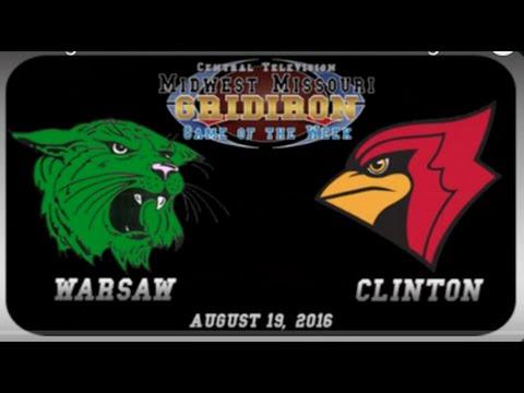 Warsaw High School Wildcats vs Clinton High School Cardinals