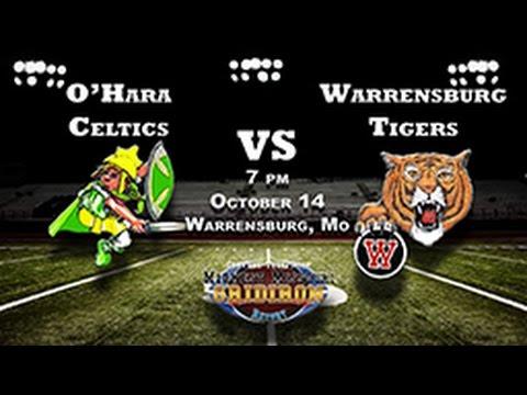 O'Hara High School Celtics at Warrensburg High School Tigers