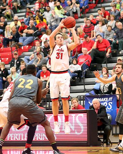PHOTO SUBMITTED BY UCM PHOTO SERVICES Spencer Reaves is the Mules' only returning All-MIAA player this season.