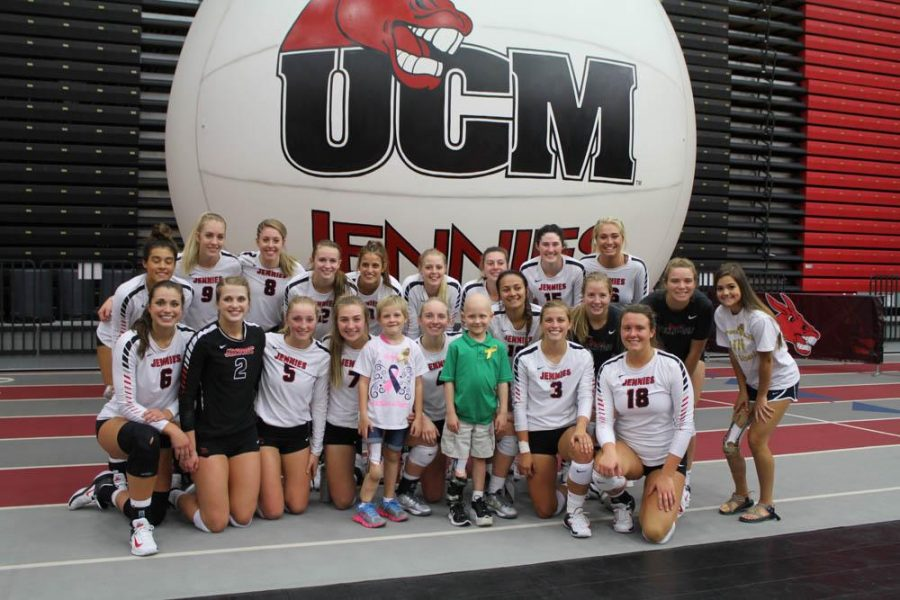 Jennies volleyball gets a lesson on cancer they won't forget
