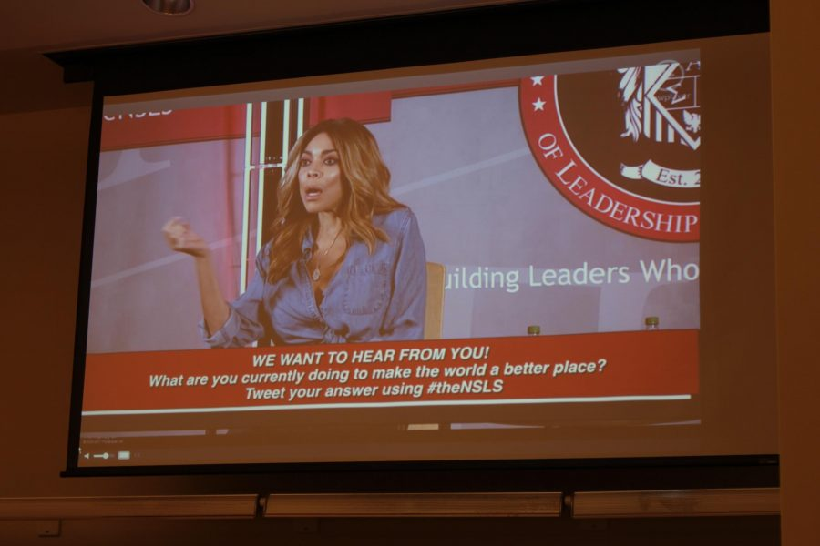 Students attend livestream featuring Wendy Williams