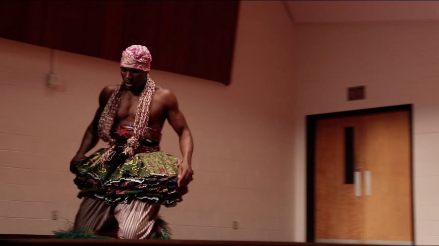 Nani Agbeli, a Ghanian performer, visited for three days to teach students and faculty about Ghanian culture including music, dancing and singing Friday, Feb. 16.