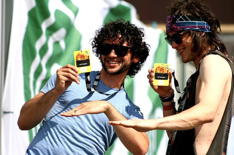 Left, Benjamin Goldwasser in 2008 with bandmate Andrew VanWyngarden.