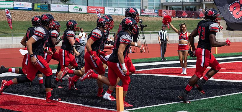 Mules football looks to make its win streak three games on the road against Washburn at 1 p.m. Saturday in Topeka, Kansas. (Photo by Peter Spexarth/For the Muleskinner)