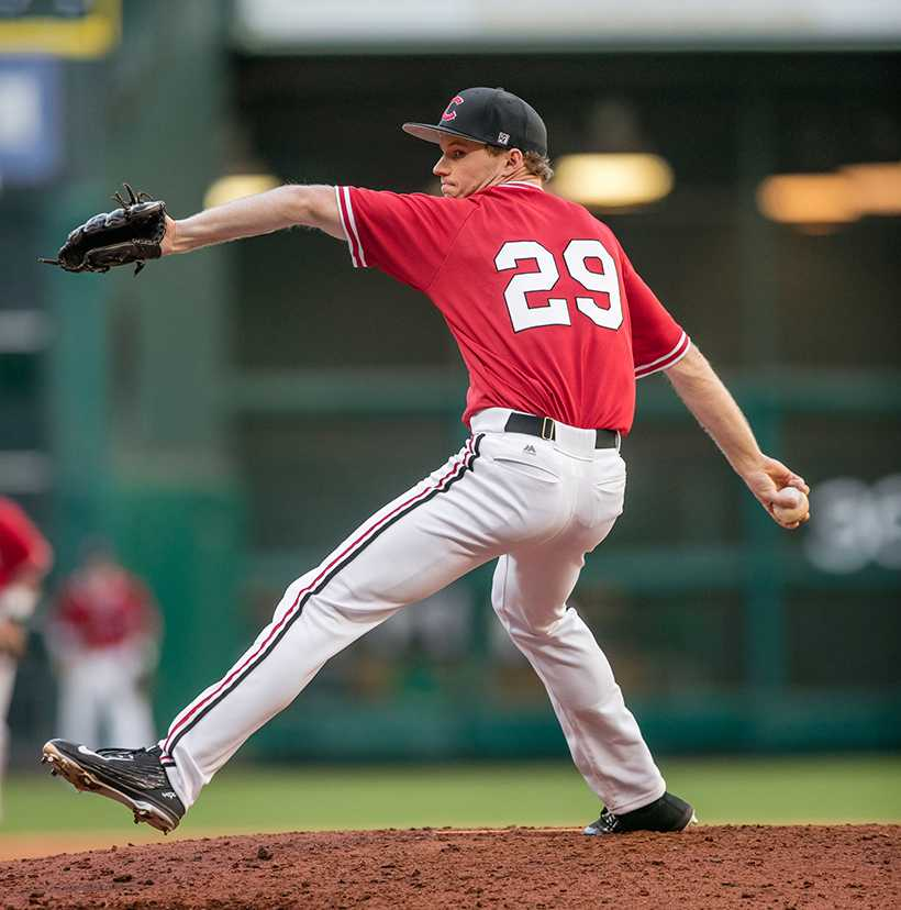 Former Mules pitcher Grant Gavin has pitched two seasons in the minor leagues with the Kansas City Royals organization. Gavin has thrown 168 innings and posted a 2.25 ERA in his minor league career. (Photo provided by UCM Athletics)