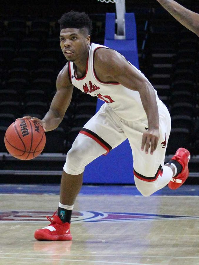 Mules graduate transfer Jafar Kinsey is with his fourth team in college basketball and in his final year of athletic eligibility. (Photo by Jason Brown/Sports Editor)