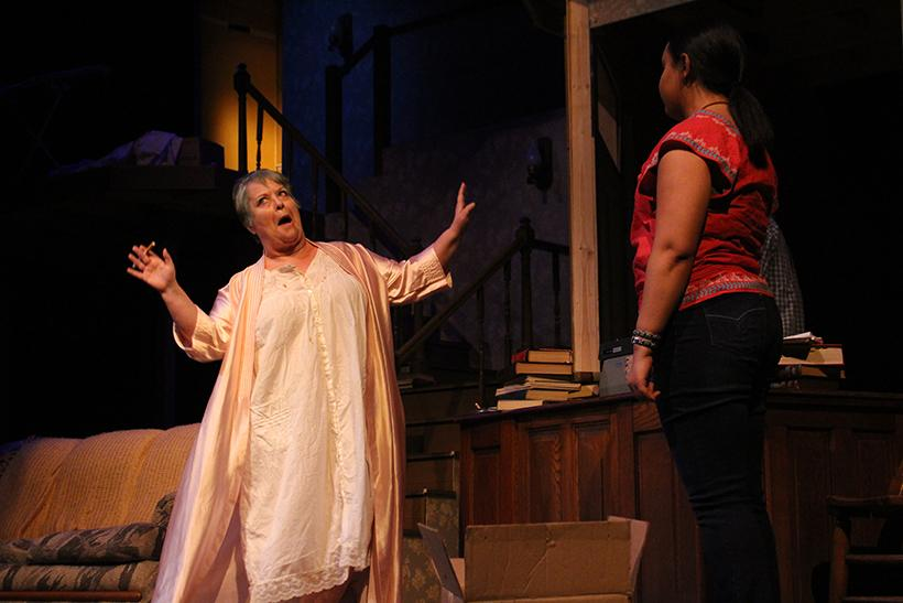 Theatre professor, Julie Mollenkamp stars as Violet Weston in an adaptation of Tracy Letts' Pulitzer Prize-winning play,