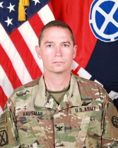 Col. Charles D. Hausman, commander, Combat Aviation Brigade, 35th Infantry Division, is the featured guest for UCM