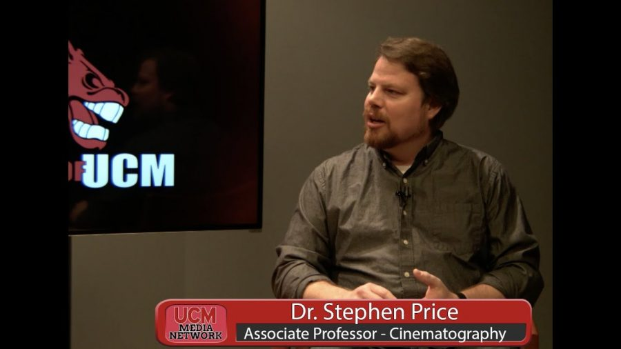 Faces of UCM (Spring 2020-Episode 1): Dr. Stephen Price