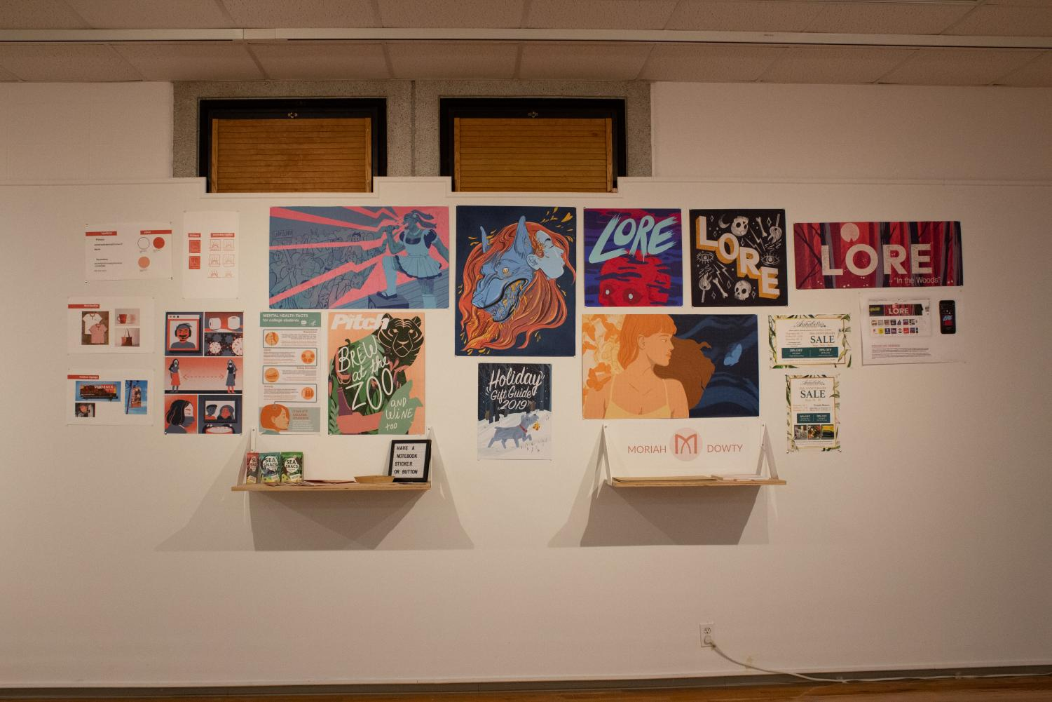 Illustration+and+Design+Seniors+Cover+Gallery+Walls
