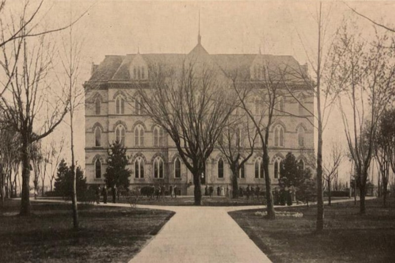 Built in 1871, the same year the University of Central Missouri was founded, Old Main was the hub of activity on campus until it was destroyed by fire in 1915.