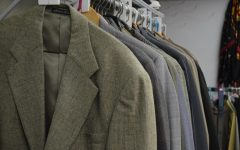 The Professional Clothing Studio allows students to choose up to four pieces of clothing.