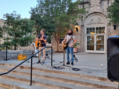 The Icarus Account brought music to the University of Central Missouri campus Wednesday, August 18. Their songs brought smiles to students