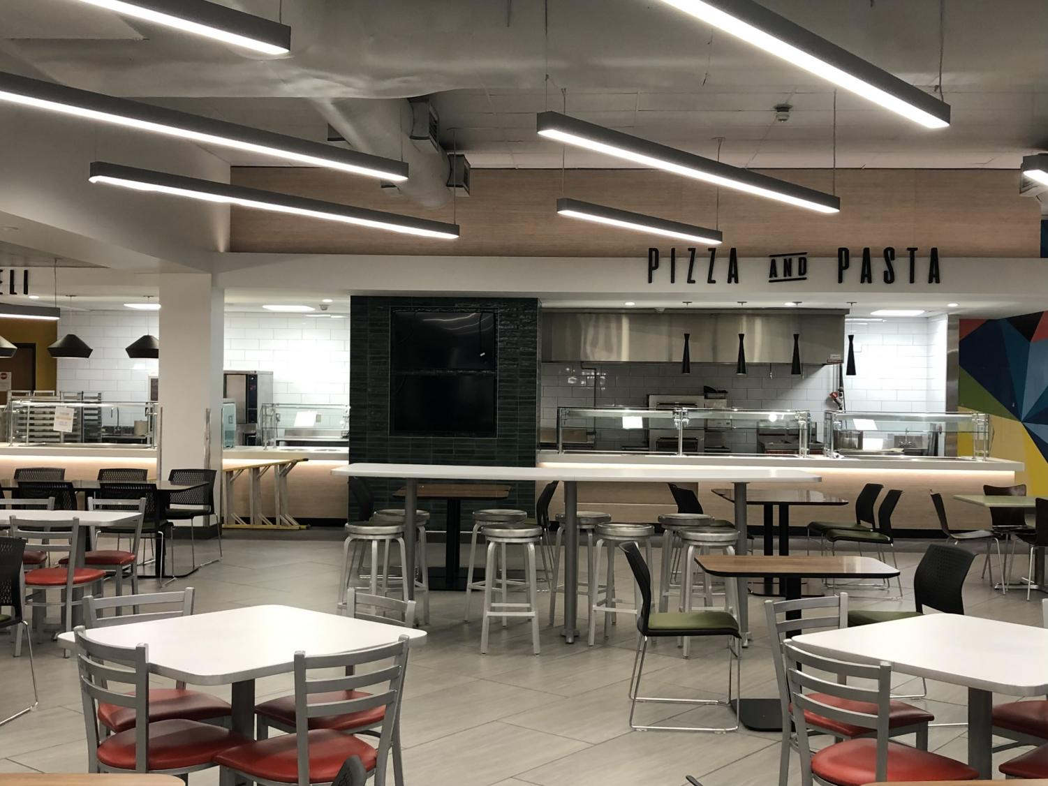 Todd+Dining+Hall+is+Open+Once+Again