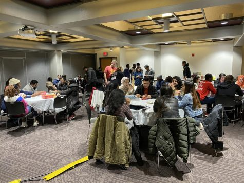 The International Student Organization at the University of Central Missouri gathers for a game night. Photo submitted by Sarvesh Patel